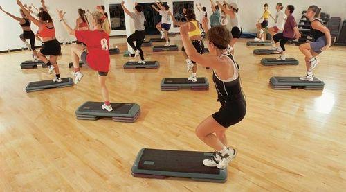 fitness-cours de step