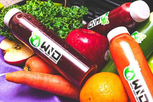 Des jus de fruits et légumes pour la forme