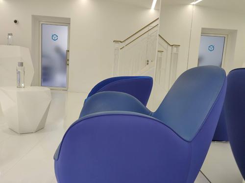 accueil salle pour cryotherapie