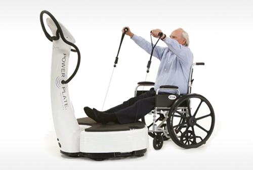 plateforme vibrante pour réhabilitation