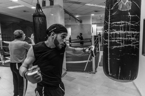 entrainement à la boxe