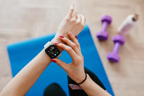 Une montre connectée pour le fitness